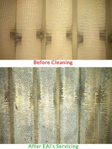 EAI Servicing Before and After Cleaning