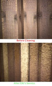 Before and After cleaning EAI Servicing