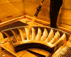 Chemical Cleaning Turbine Section